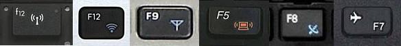 Клавиши wifi на ноутбуке