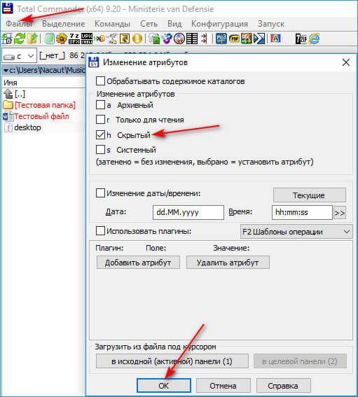Как показать файлы и папки в Windows
