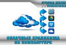 Использование облачных хранилищ на компьютере
