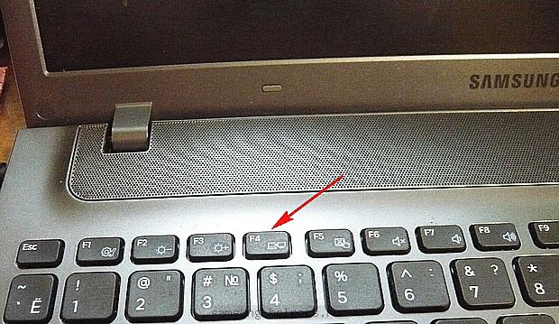 Клавиша F4 для восстановления ноутбука Samsung до заводских настроек