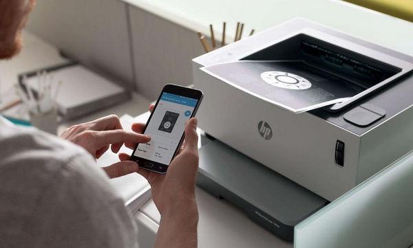 Управление HP Neverstop с помощью HP Smart App