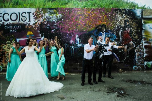 Граффити - свадьба